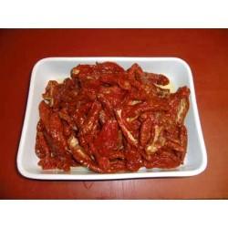 Tomaten getrocknet in Öl eingelegt