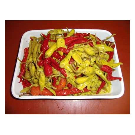 Pepperonis/ Paprika pikant eingelegt