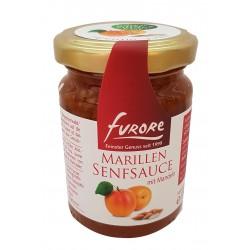Marillensenfsauce mit Mandelstiften 180 Gramm/ Glas