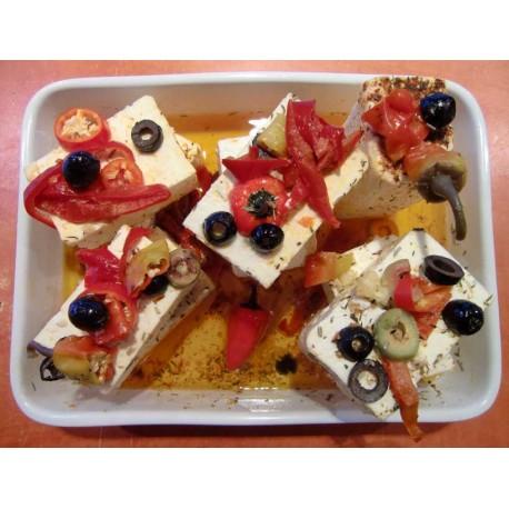 """Feta- Käse pikant eingelegt """"Griechisch"""""""